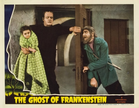 Poster - Ghost of Frankenstein, The_05