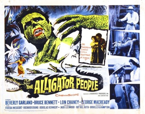 The Alligator People poster