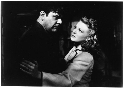 The Wolf Man 1941 Lon and Evelyn
