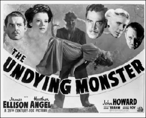 Undying Monster Poster