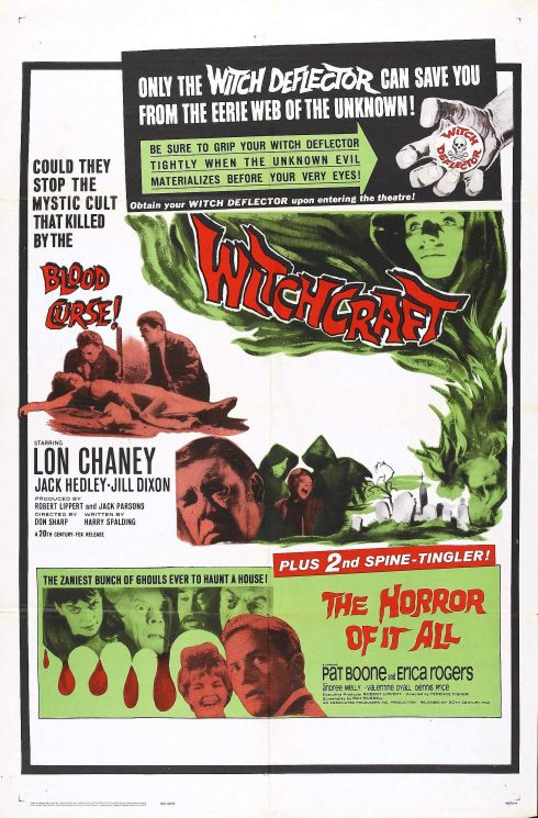 Witchcraft & The Horror of it all double poster