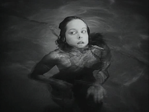 Swimming pool scene Cat People '42