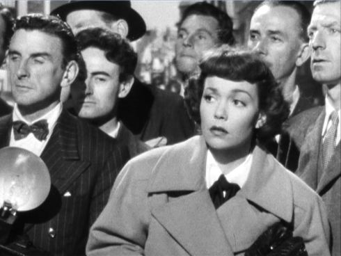 Jane Wyman stagefright