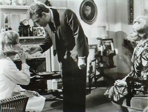 Lee Remick George Segal & Eileen Heckart on the set of No Way To Treat A Lady (1968)