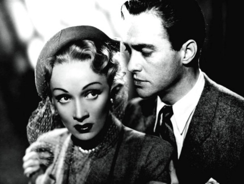 Marlene and Richard Todd-Alfred Hitchcock's Stage Fright