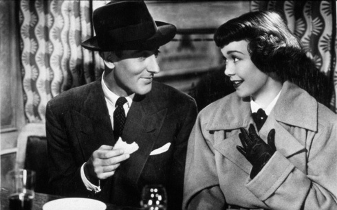 Michael Wilding and Jane Wyman