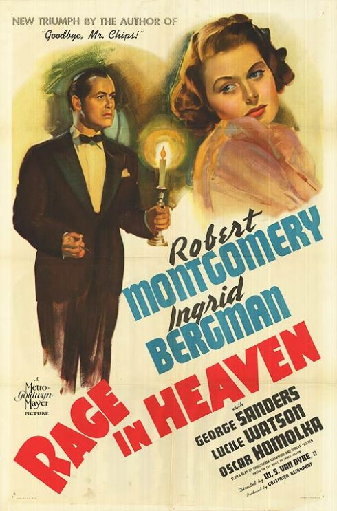 Rage in Heaven movie poster