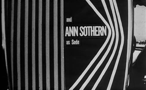 Ann Southern as Sade
