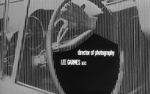 director of photog Lee Garmes