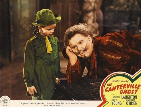 The Canterville Ghost-Margaret O'Brien & Charles Laughton