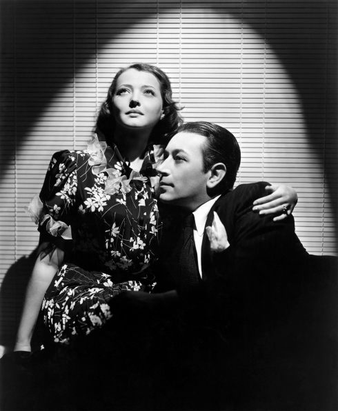 YOU AND ME 1938-Sidney, Sylvia and George Raft