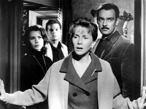 THE HAUNTING, Claire Bloom, Russ Tamblyn, Julie Harris, Richard Johnson, 1963.