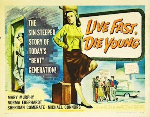 live fast die young poster
