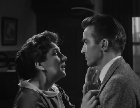 Maureen Stapleton and Monty Clift in Lonelyhearts