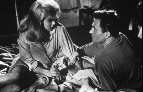 Lolita Sue Lyon and James Mason