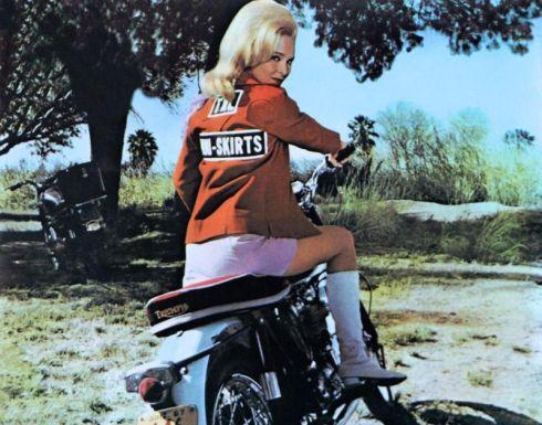 Diane McBain Mini Skirt Mob boss