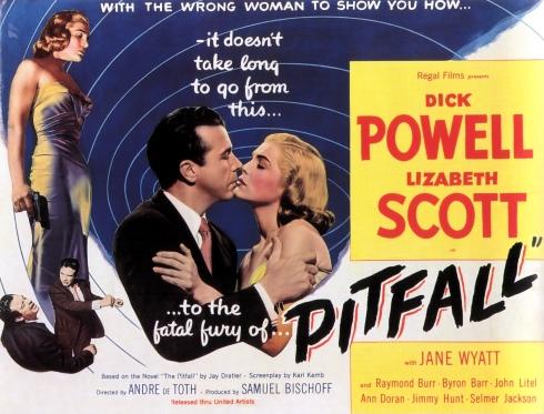 Film Noir Poster - Pitfall_01