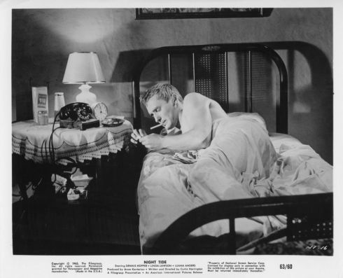night tide lobby card Dennis