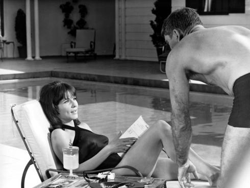 THE SWIMMER,  Janice Rule, Burt Lancaster, 1968.
