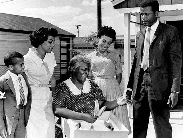 the struggles of the younger family in a raisin in the sun a film by daniel petrie Not as much an adaptation of the lorraine hansberry play as a film capture of stage events, a raisin in the sun is directed by daniel petrie almost entirely in the confines of one room.