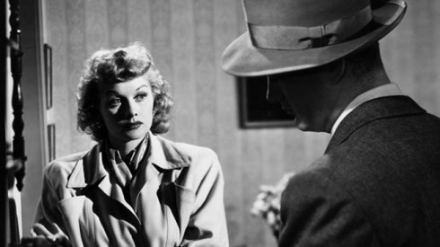 Lucille Ball in The Dark Corner