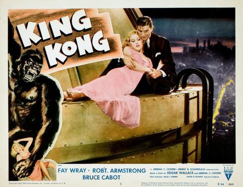 king-kong-fay-wray-bruce-cabot-1933-everett