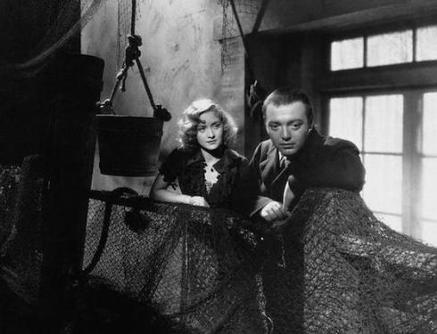 Marian Marsh and Lorre in Crime and Punishment