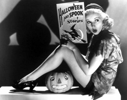 Nan Grey halloween promo