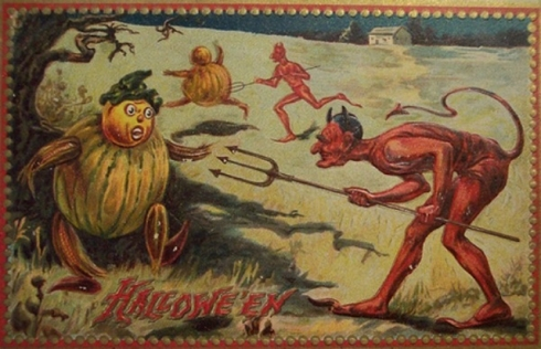 Odd+Vintage+Halloween+Postcard+%288%29