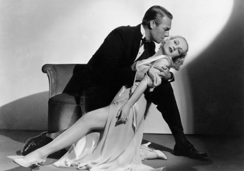 1933 --- Randolph Scott and Carole Lombard in a publicity shot for the movie . --- Image by © Bettmann/CORBIS