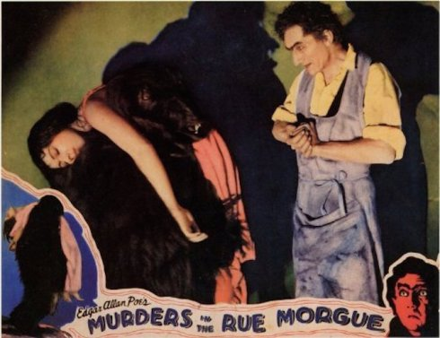 Rue Morgue Lobby Card