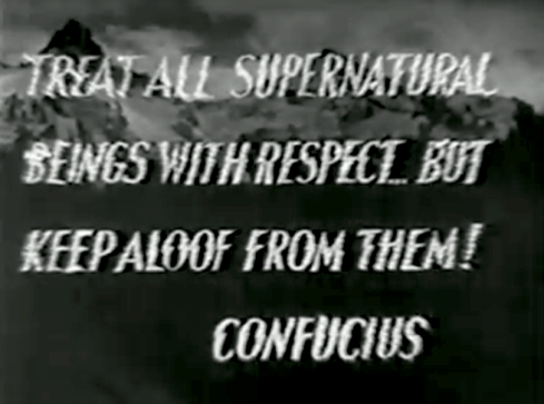 Supernatural opening quote