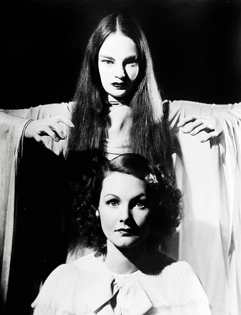 Elizabeth Allan and Carroll Borland Mark of the Vampire