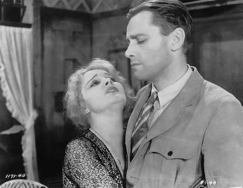 Jeanne Eagels and Herbert Marshall in The Letter