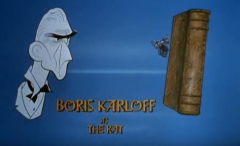 Boris as the Rat in Rankin?Bass The Daydreamer 1966