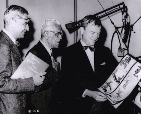 Dr. Seuss (Theodor Geisel), Boris Karloff and Chuck Jones