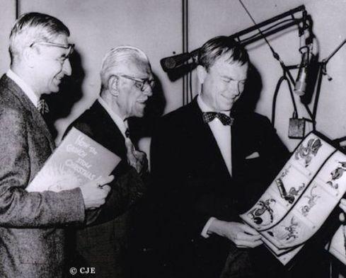 Dr. Seuss (Theodor Geisel), Boris Karloff and Chuck Jones