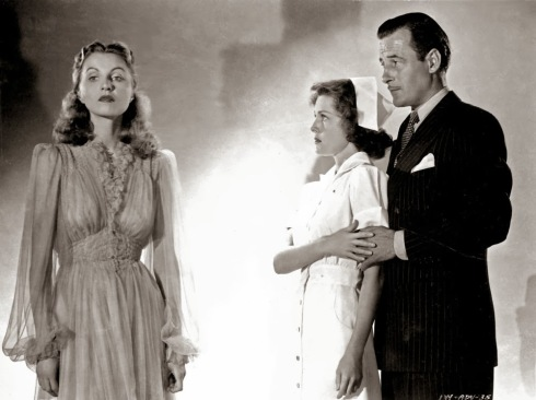Frances Dee, Tom Conway, Edith Barrett in I Walked with a Zombie (1943)