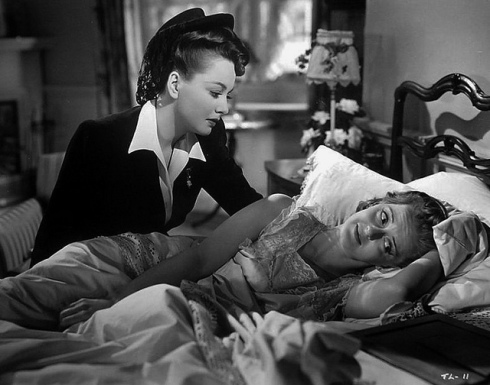 Bette and Olivia in In This Our Life 1942
