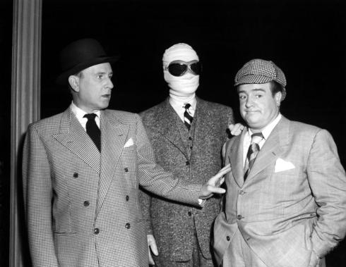 ABBOTT AND COSTELLO MEET THE INVISIBLE MAN, Bud Abbott, Arthur Franz, Lou Costello, 1951