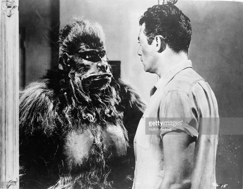 Bride of the Gorilla ape and burr