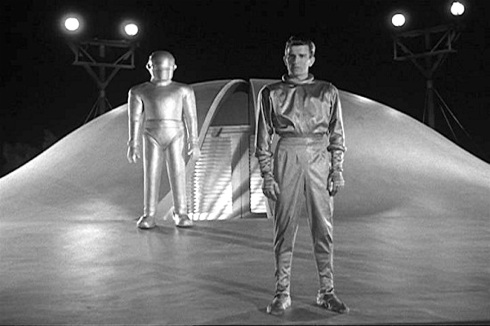 day the earth stood stil klaatu and gort arrive
