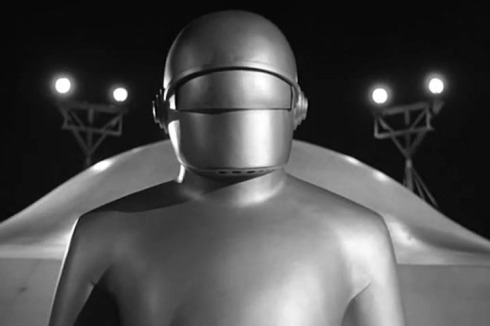 Day the Earth STood Still Gort close up