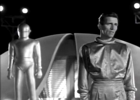 Day the Earth Stood Still Klaatu and Gort 2