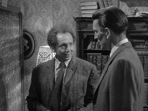 Day the Earth Stood Still Sam Jaffe at the blackboard