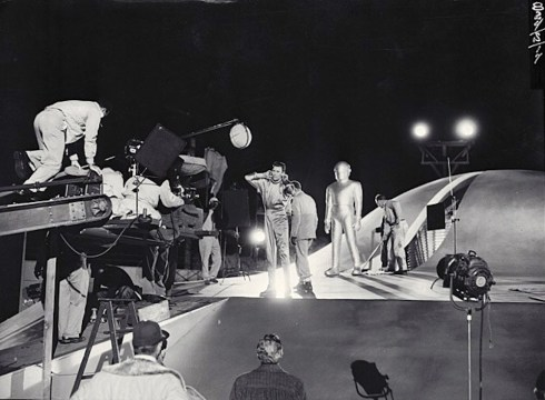 Day_The_Earth_Stood_Still 1951 on the set