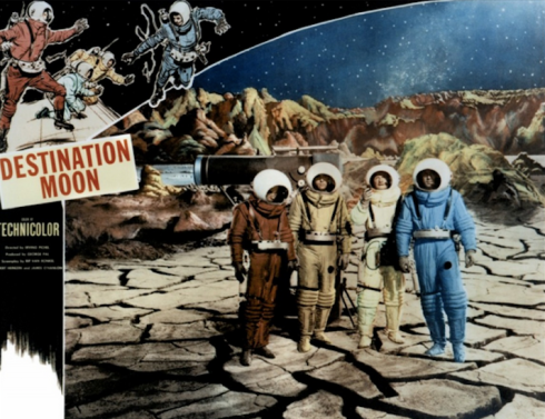 Destination Moon on the surface