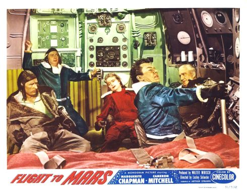 Flight to Mars 1951 lobby card color