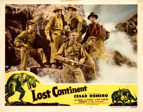 Lost Continent lobby card