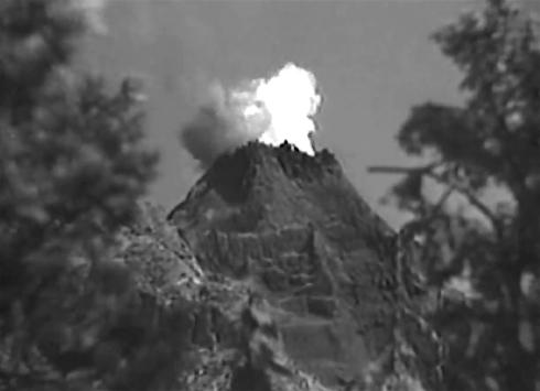 Mysterious ISland vulcano